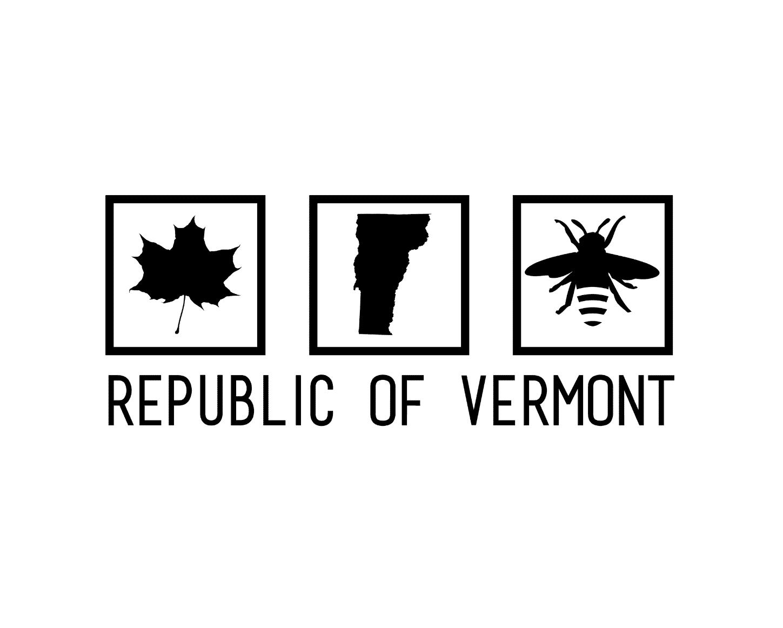 Republic of VT Honey Canva Logo